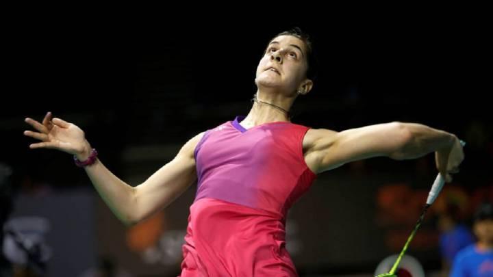 Carolina Marín sufre pero gana en su debut en Dinamarca