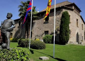 El Barcelona inaugura La Masía el 20 de octubre de 1979