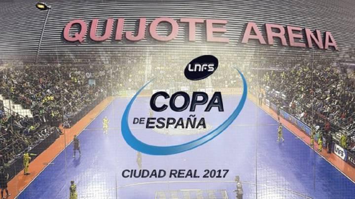 Ciudad Real albergará la Copa de España de Fútbol Sala 2017