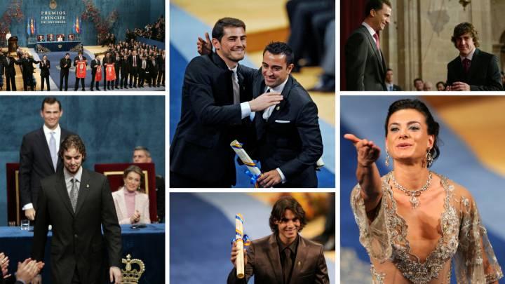 Los ganadores del Princesa de Asturias de los Deportes