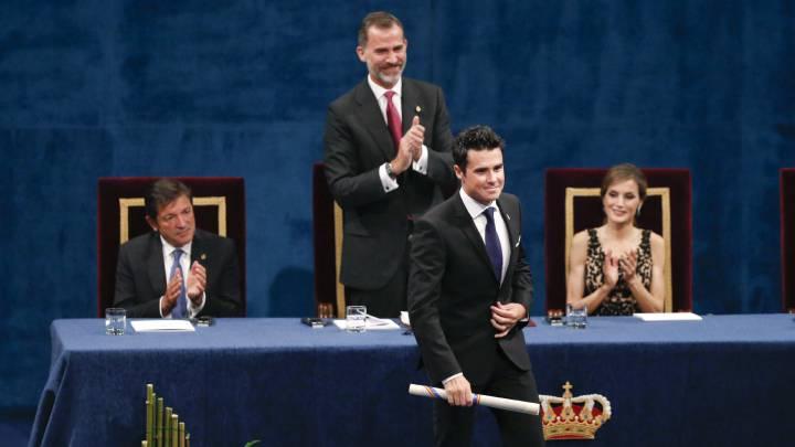 """El Rey: """"Noya es un símbolo de los valores del deporte"""""""