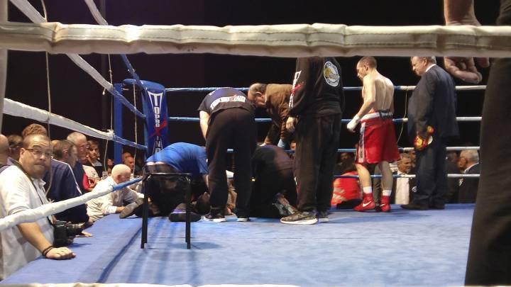 El boxeador Saúl Tejada sube a planta y respira por sí mismo