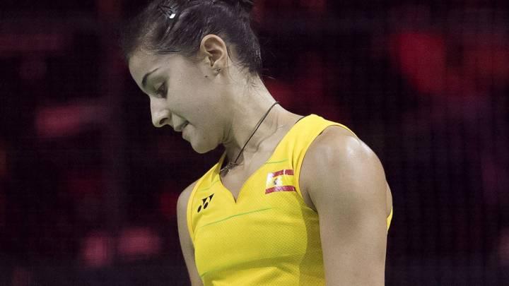 Carolina Marín, baja en París por lesión: \
