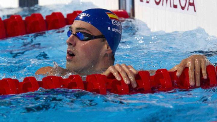 Rafa Muñoz anuncia su retirada de la natación a los 28 años
