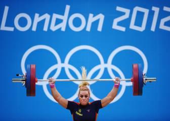 Lydia Valentín está más cerca del oro olímpico en Londres