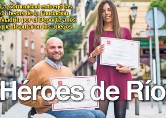 Deporte Madrid: Héroes de Río