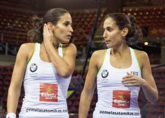 Apasionantes semifinales femeninas del Open Zaragoza