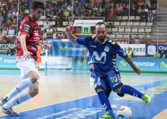 Ricardinho suma su 6º gol y el Movistar sigue líder