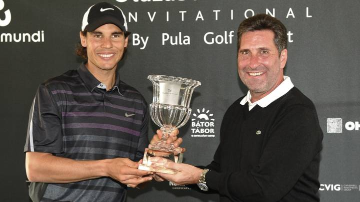 Chema Olazábal y Rafa Nadal reeditan su torneo benéfico