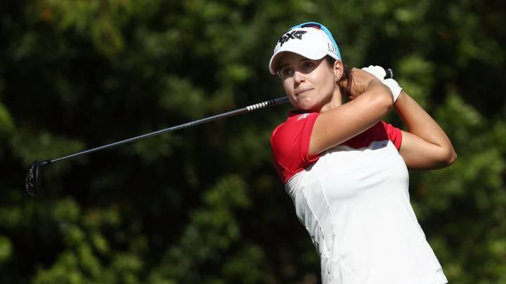 La jugadora de golf Beatriz Recari, a dos golpes de la china Feng, primer líder de CMA Group Tour Championship, la gran final del LPGA Tour.