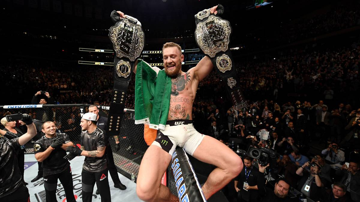 """McGregor reta a Mayweather: """"Quiero 100 millones y boxeo"""""""