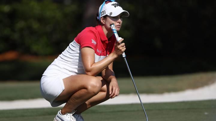 Recari, cuarta a 4 golpes de la líder Ko en la final de la LPGA