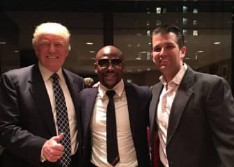 Mayweather y su curiosa visita al presidente Donald Trump