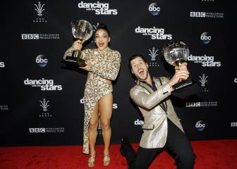 Medallista Laurie Hernandez gana 'Dancing with the Stars'