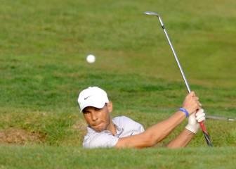 Nadal aventaja a Olazábal en su torneo de golf solidario