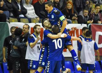 El Movistar jugará la fase final contra Kairat, Ugra y Sporting