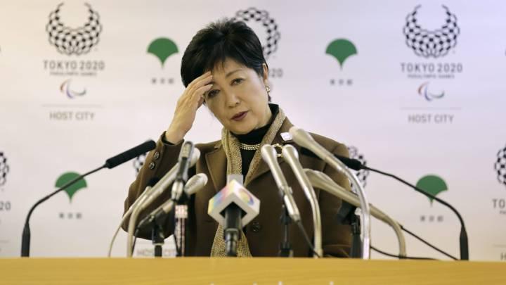 La nueva gobernadora de Tokio, Yuriko Koike, ofrece una rueda de prensa en Tokio en una imagen de archivo.