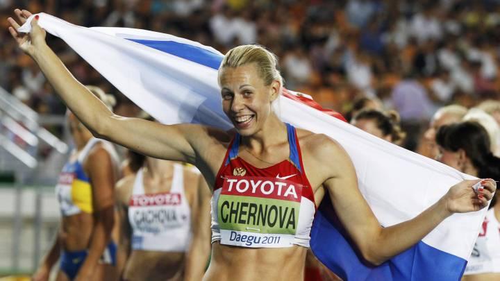 EL TAS suspende por dopaje\r\na tres atletas rusas