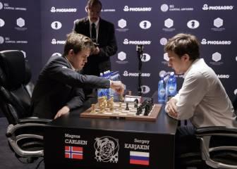 El gran Magnus Carlsen retiene el título gracias al tiempo