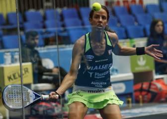 Alba Galán y Carmen Villalba, sorpresa en el Open de Euskadi