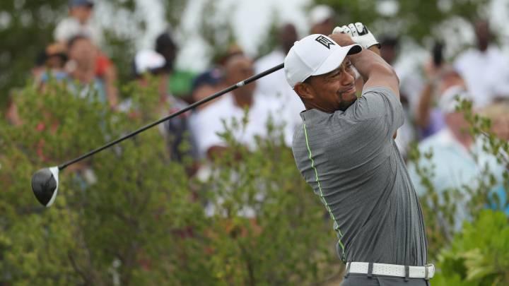 Tiger Woods continúa con su resurrección: \