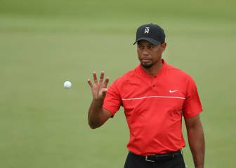 Tiger Woods acaba 15º en su regreso y líder de birdies (24)