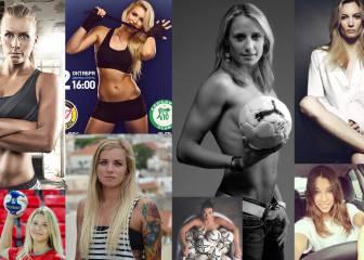 Las 16 bellezas de los 16 equipos del Europeo de Suecia