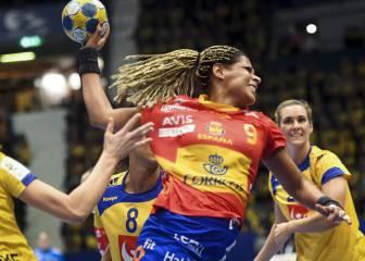 España vs Serbia; Europeo de Suecia: resumen (23-25)