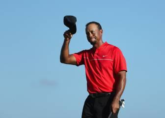 Tiger Woods, tras su retorno: