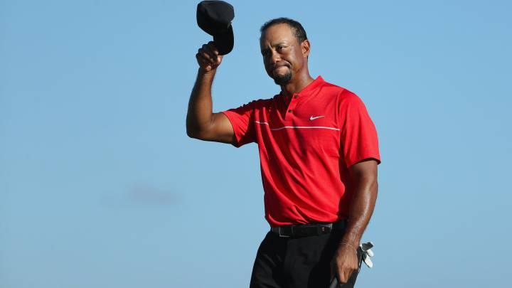 Tiger Woods, tras su retorno: \