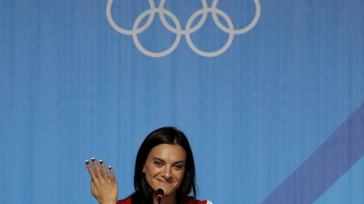 Isinbayeva, al comité de control de la Agencia Antidopaje rusa