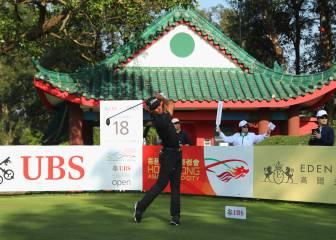 Rafa Cabrera Bello, primer líder en el torneo de Hong Kong