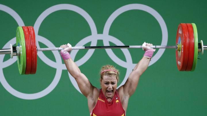 Lidia Valentín en los Juegos de Río