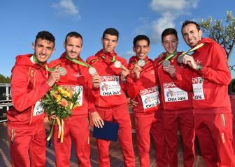 España siempre hace podio en cross: plata europea en equipos