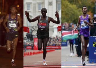 ¿Bajarán Kipchoge, Tadese o Desisa de 2 horas en maratón?
