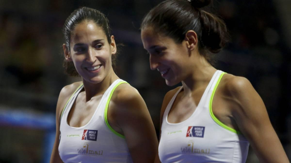Las gemelas Sánchez Alayeto, maestras ante las número uno - AS.com