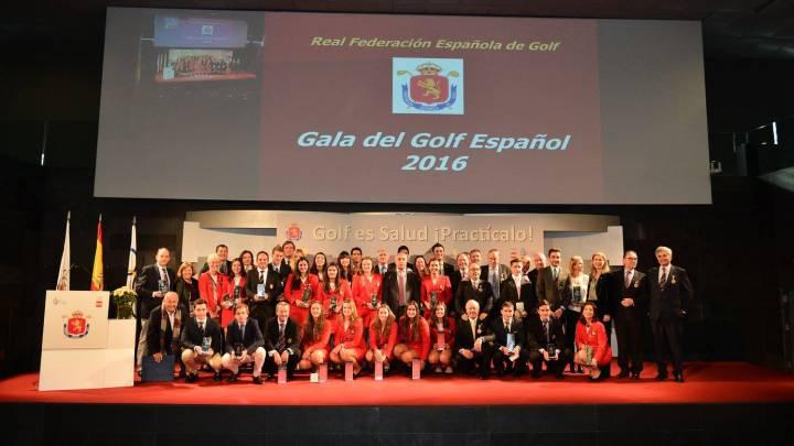 Escauriaza, presidente y Rahm, estrella en la Gala del Golf