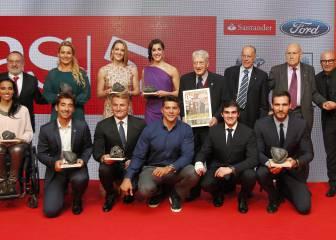 Los héroes de Río convirtieron en oro los Premios AS 2016