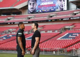 Vendidas 50.000 entradas del Joshua-Klitschko en Wembley
