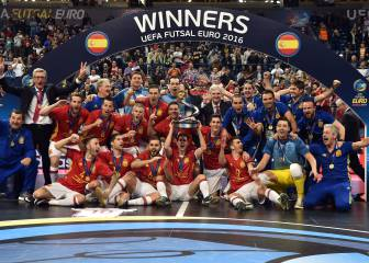 Ricardinho, Argentina, España... lo mejor del fútbol sala en 2016