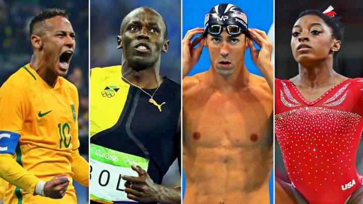 Phelps, Bolt, Biles... Los grandes momentos de los Juegos de Río