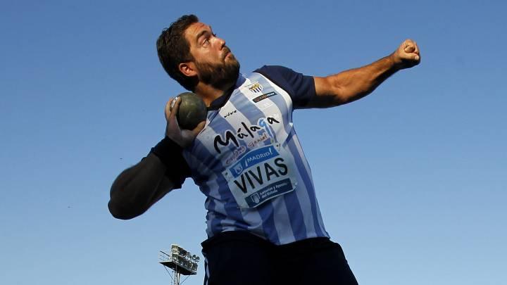 Borja Vivas lanza 19,90, marca mínima para los Europeos
