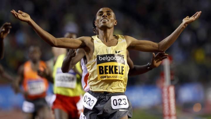 Bekele tiene un reto el 20 de enero: batir el récord mundial