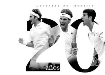 20 años dominando el tenis