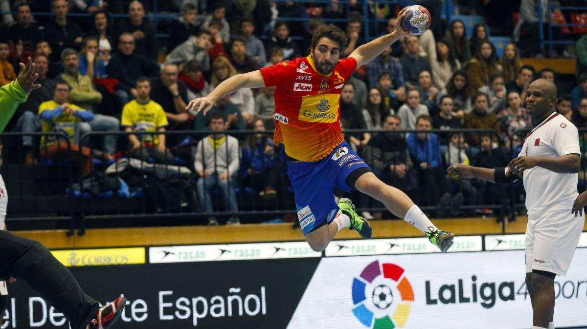 España - Islandia del Mundial de Balonmano: resumen (27 - 21)