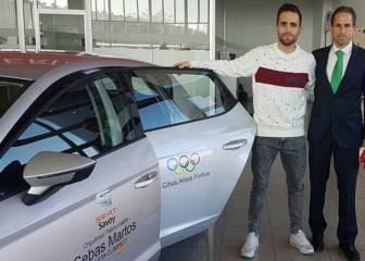 Sebas Martos recibe un coche Seat para toda la temporada