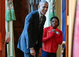 Biles, Rajon Rondo y Hope Solo rinden tributo a Barack Obama