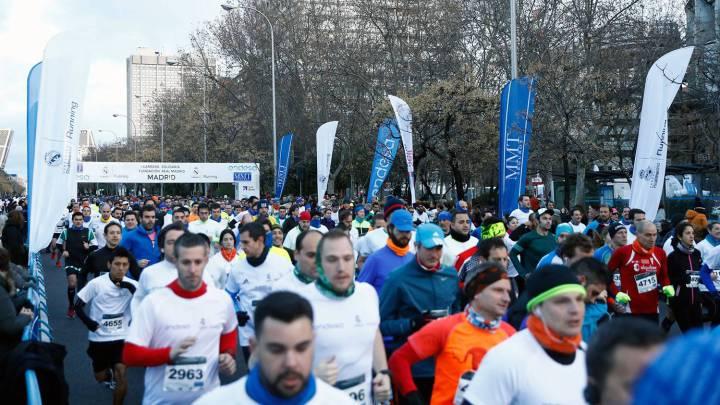 5.000 personas, en la I Carrera Solidaria Fundación Real Madrid
