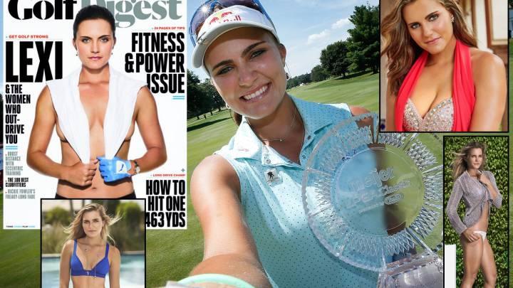 Lexi Thompson: la amiga de Trump que seduce en el LPGA