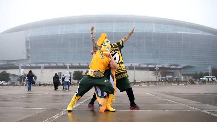 Las imágenes más curiosas de la ronda divisional de la NFL